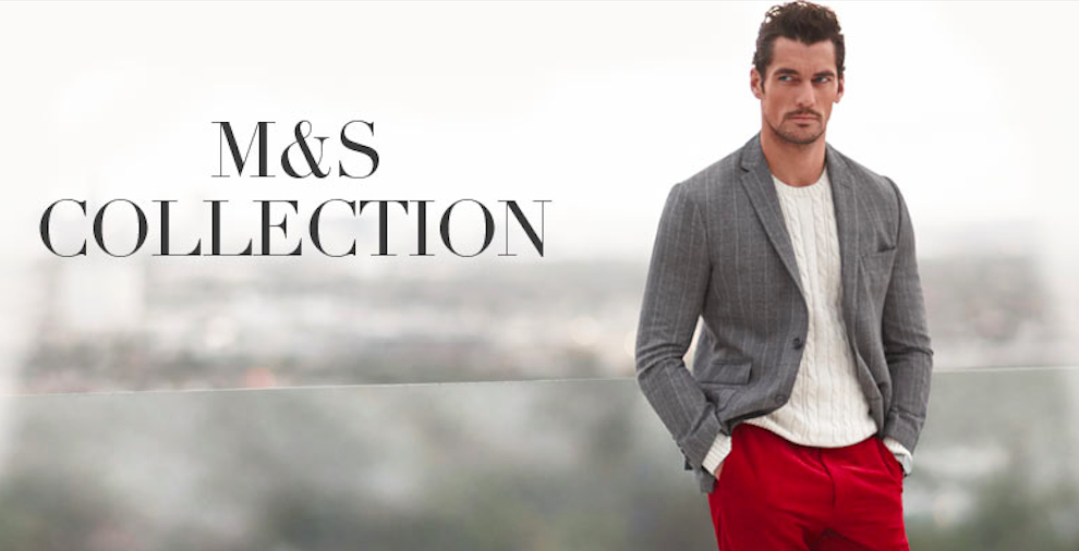Fronting the S/S 2014 M&S Collection Menswear label